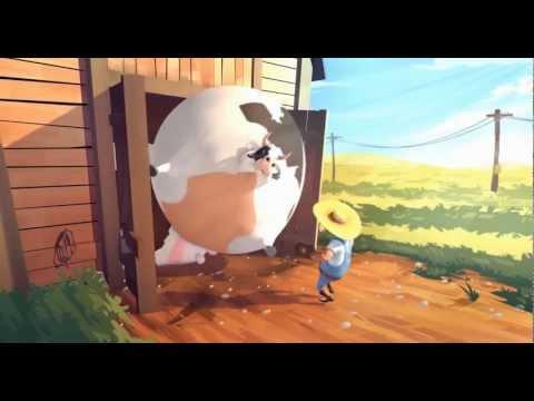 Fat – farm animals get fat- the animation HD