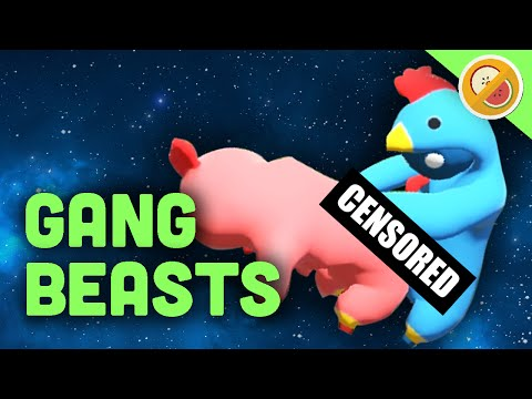 ANIMALS GONE WILD! | Gang Beasts Multiplayer Gameplay (Funny Moments)