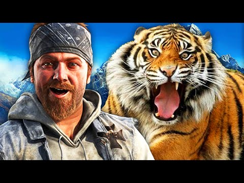 Far Cry 4 Funny Moments! (Killing Spree, Wild Animals, and MORE!)