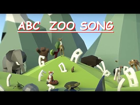 Funny ZOO ABCD Kids SONG Alphabet Animals SONG For Kids