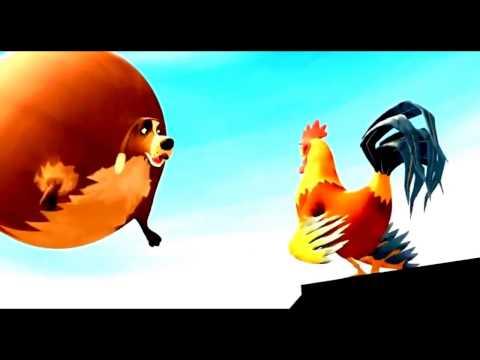 Fat Animals Funny Farm Short Animated Movie HD