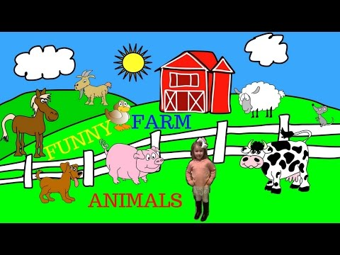 Funny Farm Animals – 4 Minutes of Funny and Cute Farm Animals for Kids!