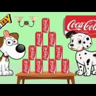 Dogs Playing with Coca Cola – Dogs Cartoons for Children – Funny Dogs Videos Compilation 2017