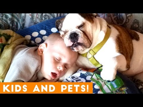 The Cutest Kids and Animals Compilation 2018 Pt. 1   Funny Pet Videos