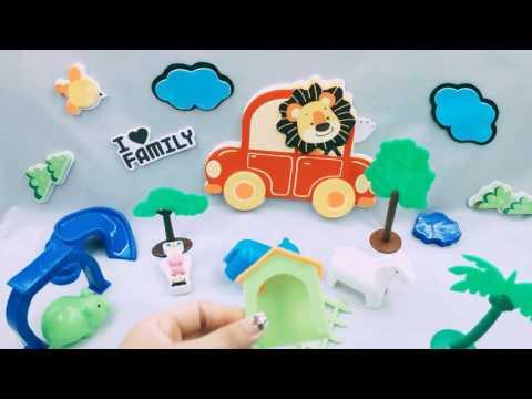 Funny Farm Animals – Baby Learn English With Farm Toys