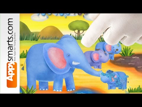 Funny Wild Animals Educational Cartoon Game for toddlers and preschoolers [iOS/Android]
