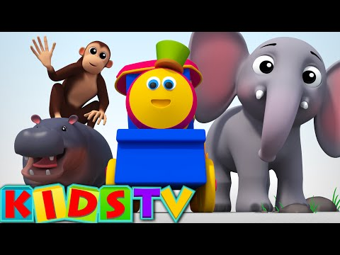 Bob The Train | Alphabets Animals Song | ABC Song For Kids And Children | Kids TV