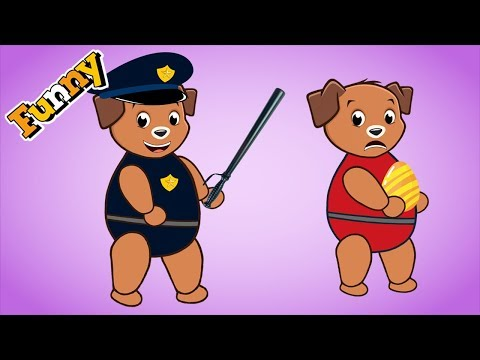 Funny Dogs Cartoons for Children full Episodes 2017   Dogs Videos for Kids 2017